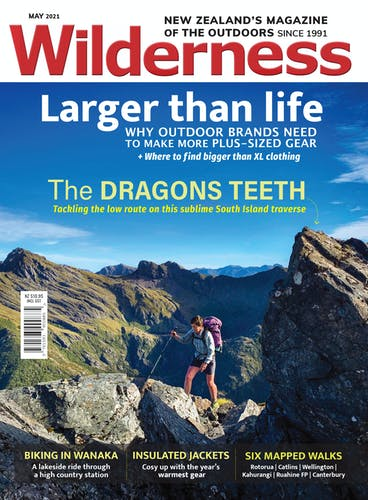 Image of the May 2021 Wilderness Magazine Cover